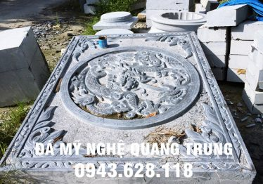 Mẫu Chân cột đá đẹp Quang Trung 55