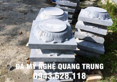 Mẫu Chân cột đá đẹp Quang Trung 58