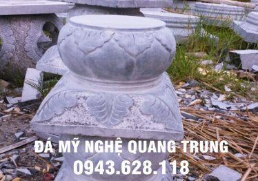 Mẫu Chân cột đá đẹp Quang Trung 59