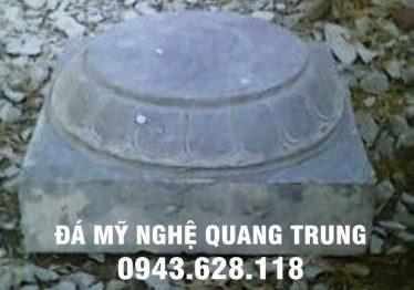 Mẫu Chân cột đá đẹp Quang Trung 60