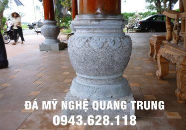 Mẫu Chân cột đá đẹp Quang Trung 62