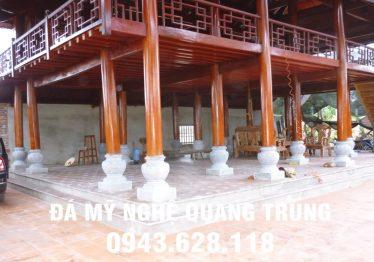 Mẫu Chân cột đá đẹp Quang Trung 63