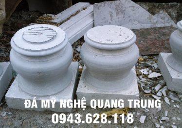 Mẫu Chân cột đá đẹp Quang Trung 68