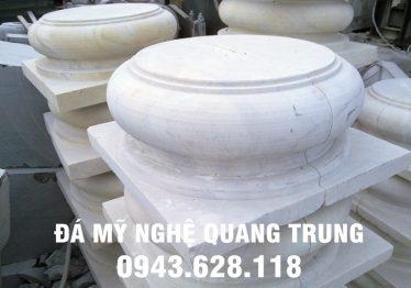 Mẫu Chân cột đá đẹp Quang Trung 72