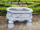 Mẫu Bể Đá Bầu Dục Đẹp của Đá Mỹ Nghệ Quang Trung