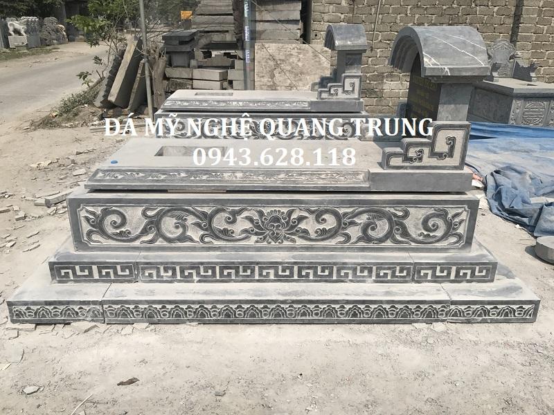 MẶT HÔNG MỘ KT 107 X 192CM Lăng mộ đá, Mộ đá Ninh Bình