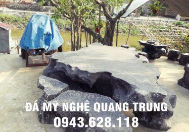 Mẫu bàn ghế đá tự nhiên tại Bắc Giang