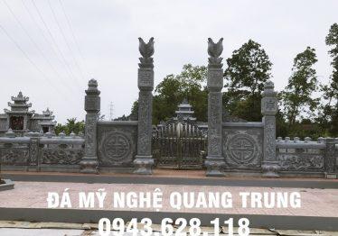 Làm Lan can đá tại Hậu Giang