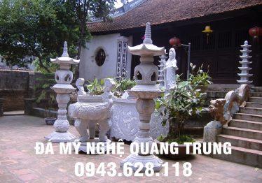 Tổng hợp 30 Mẫu Lư hương đá, Đỉnh hương đá ĐẸP của Đá mỹ nghệ Quang Trung