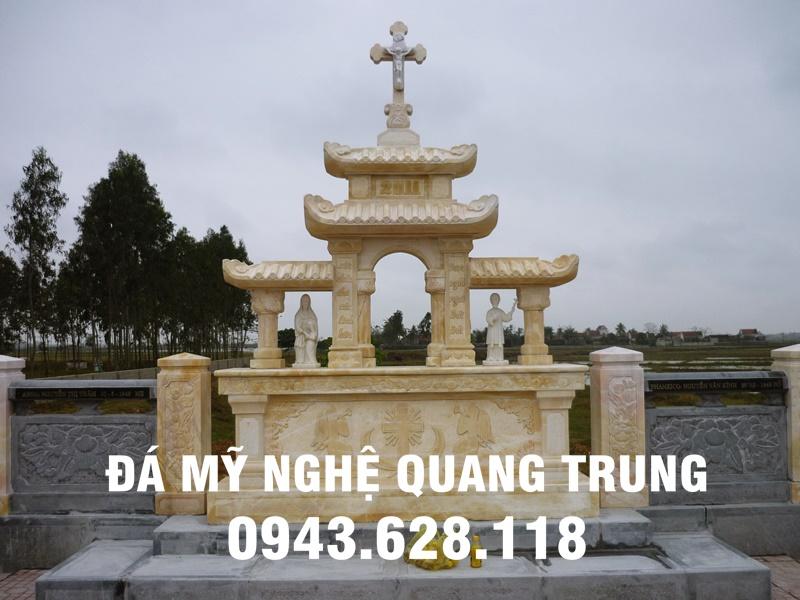 Tham khảo: Mộ đá công giáo đẹp của Đá mỹ nghệ Quang Trung