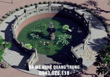 Thiết kế, xây dựng Giếng làng đá tự nhiên nguyên khối