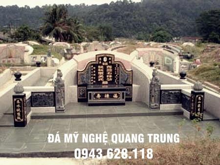 Khu lăng mộ đá thiết kế theo phong cách Trung Hoa hiện đại