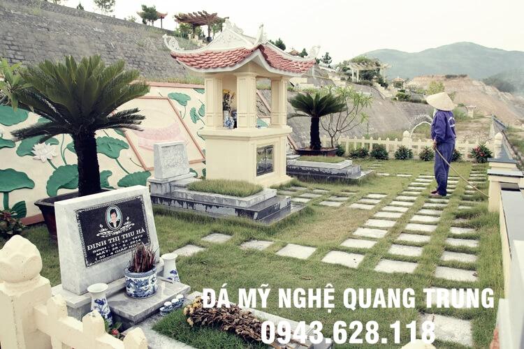 Khu lang mo da dep Quang Trung 2019