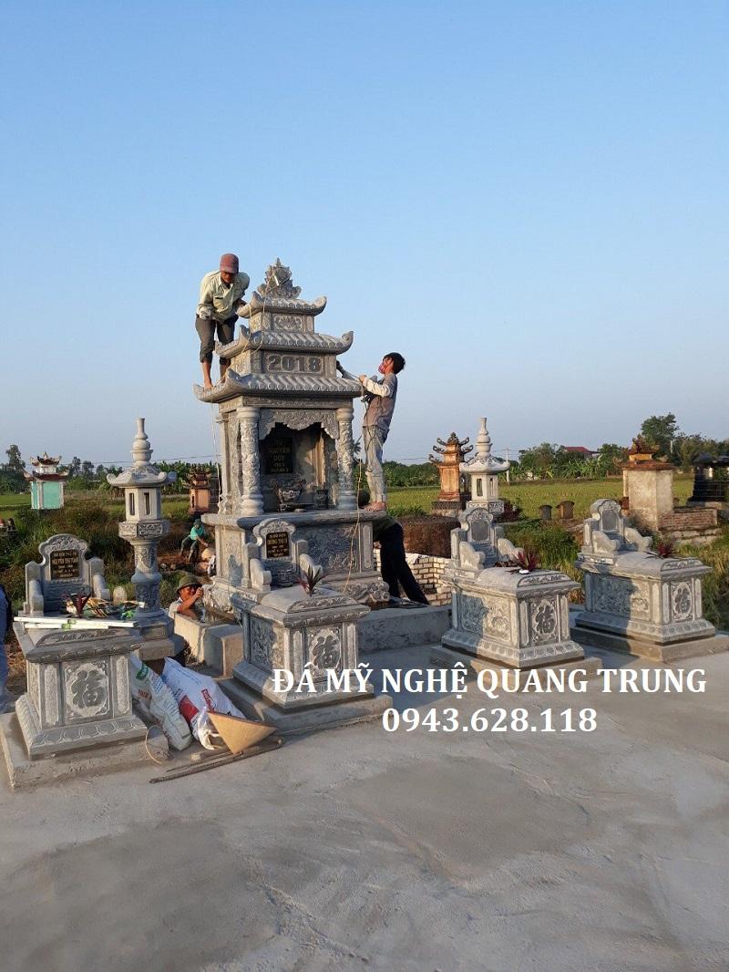 LĂNG THỜ ĐÁ ĐƠN 155 X 107 Lăng mộ đá, Mộ đá Ninh Bình