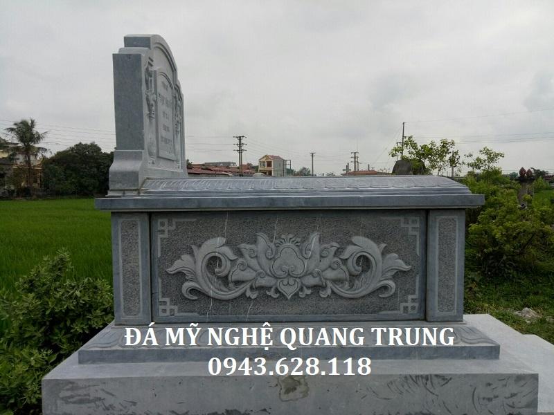 MẪU MỘ ĐÁ ĐƠN 01 Lăng mộ đá, Mộ đá Ninh Bình