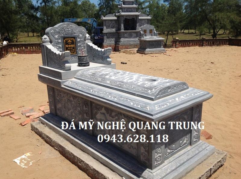 MẪU MỘ ĐÁ ĐƠN 13 Lăng mộ đá, Mộ đá Ninh Bình