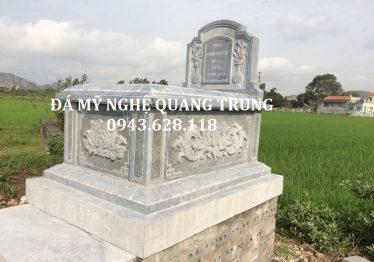 Lắp đặt Mộ Đá Đơn tại nghĩa trang xóm 13 Nghi Liên – Huyện Nghi Lộc – tp Vinh – Tỉnh Nghệ An