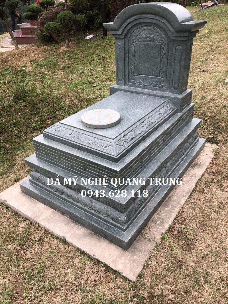 MẪU MỘ ĐƠN 03 Lăng mộ đá, Mộ đá Ninh Bình