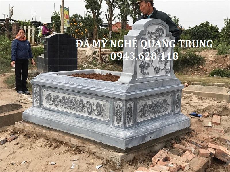 MẪU MỘ ĐƠN 06 Lăng mộ đá, Mộ đá Ninh Bình