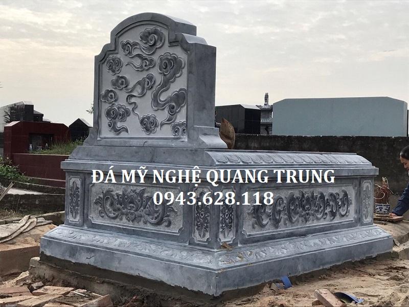 MẪU MỘ ĐƠN 07 Lăng mộ đá, Mộ đá Ninh Bình