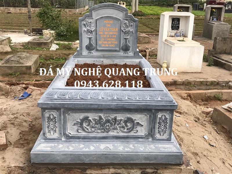 MẪU MỘ ĐƠN 08 Lăng mộ đá, Mộ đá Ninh Bình