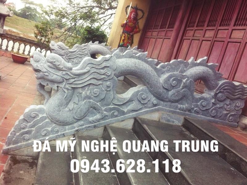 Mẫu Rồng đá thời Lý đẹp của Đá mỹ nghệ Quang Trung