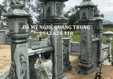Tổng hợp các mẫu cổng đá của Khu lăng mộ đá đẹp Quang Trung