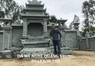 Lăng thờ đá xanh rêu của Khu Lăng mộ xanh rêu tại Nghệ An