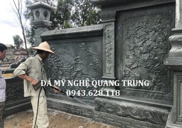 Lăng mộ đá xanh Quang Trung như thế nào?