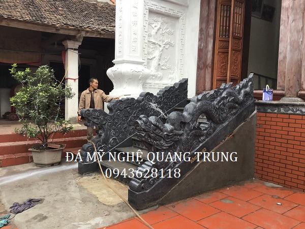 Rồng đá xanh rêu Đá mỹ nghệ Quang Trung