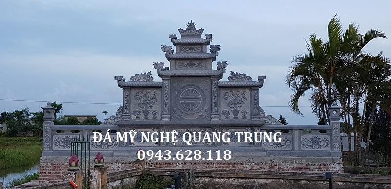 TỔNG THỂ MẶT SAU KHU LĂNG MỘ Lăng mộ đá, Mộ đá Ninh Bình