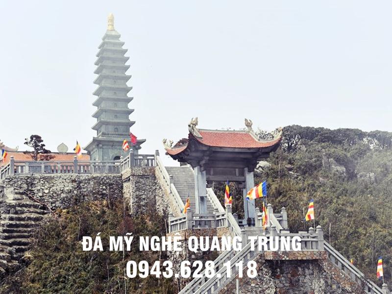 Bao thap da 11 tang tai Dinh nui Fansifan do Da my nghe Quang Trung tu van lap dat