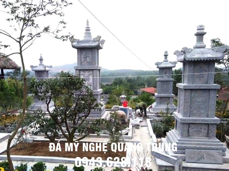 Bao thap da khu lang mo Bao thap bang da