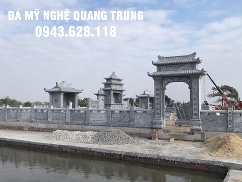 Cong da khu lang mo da dep tai Hai Phong