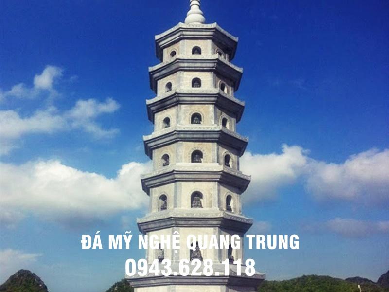 Lam Bao thap da Mo bao thap bang da xanh nguyen khoi