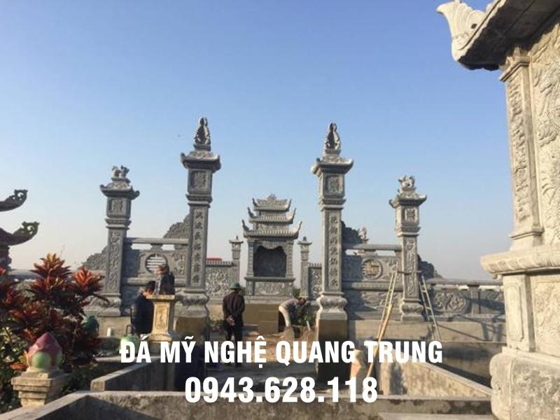 Mau Cong da DEP khu lang mo dep Quang Trung