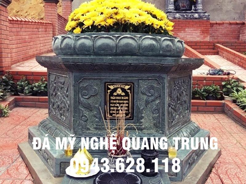 Mẫu mộ đá lục lăng đẹp Quang Trung - Ninh Vân, Hoa Lư, Ninh Bình