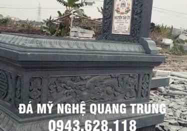 Mẫu mồ đẹp, mồ đá đẹp Quang Trung Ninh Bình
