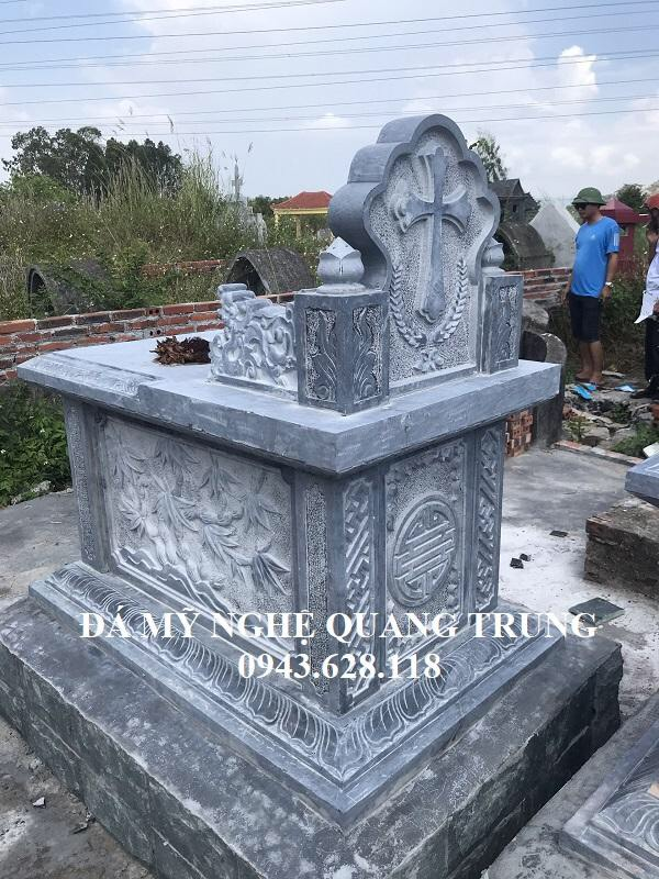 Mau Mo da DEP o Hai Phong Lăng mộ đá, Mộ đá Ninh Bình