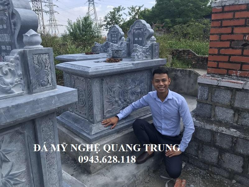 Mau Mo da Quang Trung Ninh Binh Lăng mộ đá, Mộ đá Ninh Bình