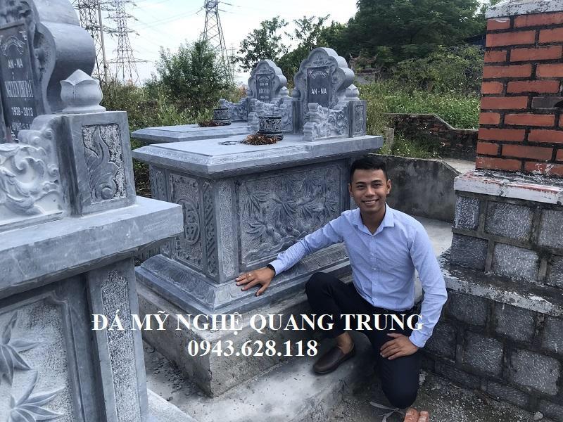 Mo da don tai Hai Phong Lăng mộ đá, Mộ đá Ninh Bình
