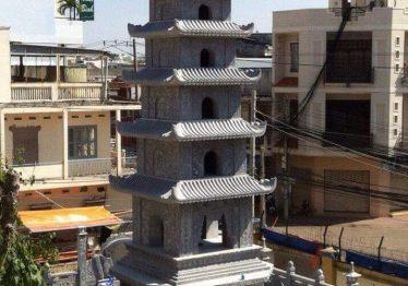 Mộ đá tháp đẹp – Bảo tháp đẹp Quang Trung