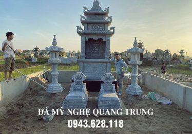 Khu Lăng mộ đá Lê Đình ĐẸP của Bác Lê Hưng Giám đốc Công ty Hưng Thịnh Phát tại Hải Dương