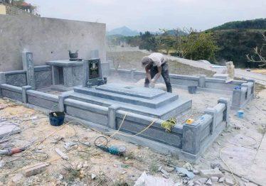 Một số lăng mộ đá đẹp giá rẻ, chi phí khoảng 200 triệu đồng