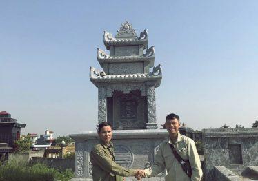 Mộ đá Tam Sơn 3 mái – Đàm tộc Cao Cao Tằng Tổ khảo Tam Chi