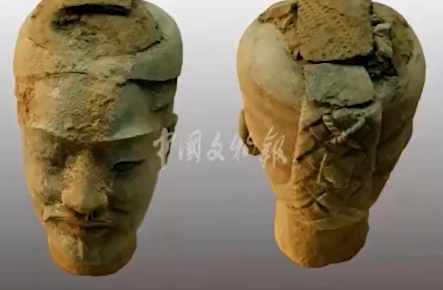 Chiến binh đất nung khu lăng mộ Tần Thủy Hoàng
