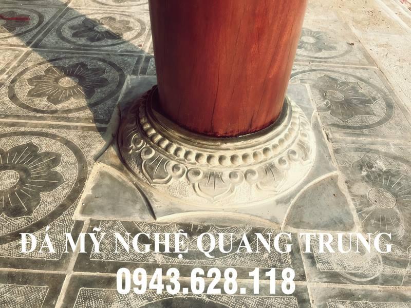 Chan cot da - Tang cot go cho Nha tho ho
