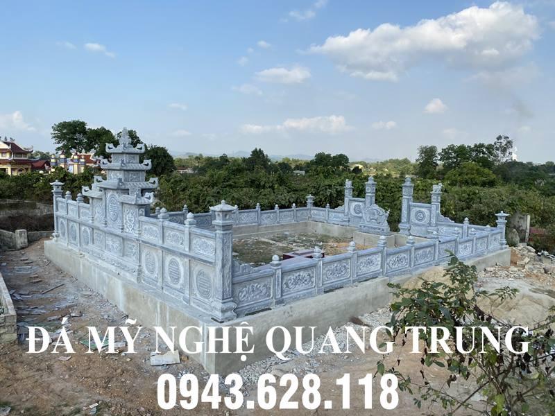 Hinh anh Tong Quan ve Lan can da cua Khu lang mo da