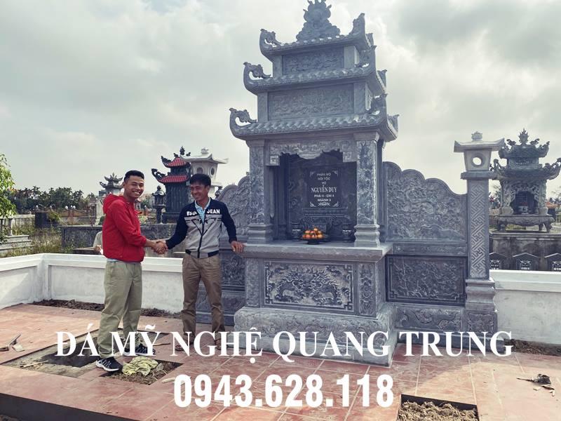 Khu lang tho da - Long dinh da Nguyen Duy