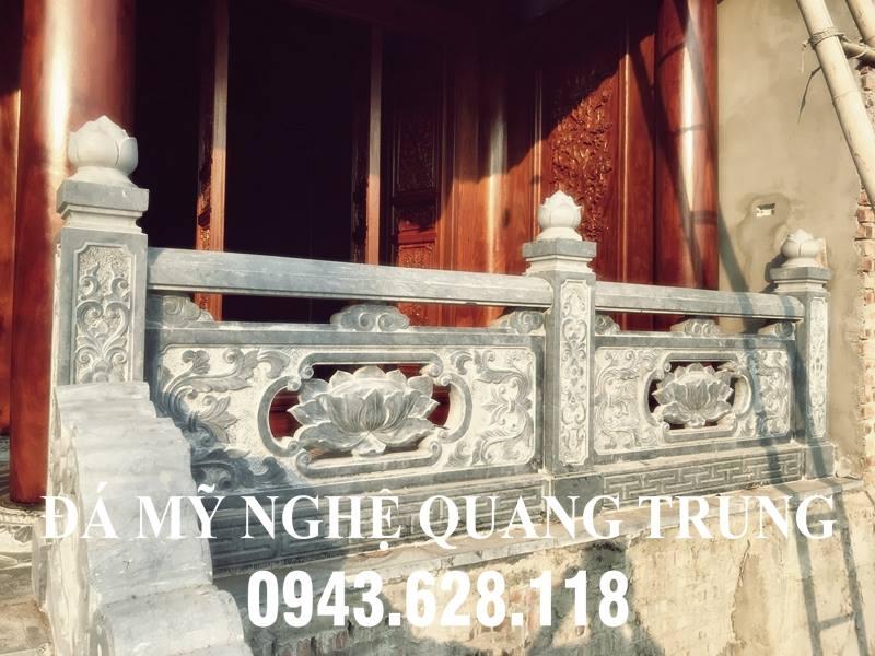 Mẫu Lan can đá ĐẸP cho Nhà thờ họ của Đá mỹ nghệ Quang Trung